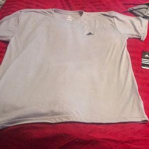 Brand new men's Adidas climalite shirt size XXL.